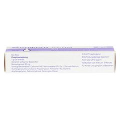 Benzaknen 5% 25 Gramm N1 - Unterseite