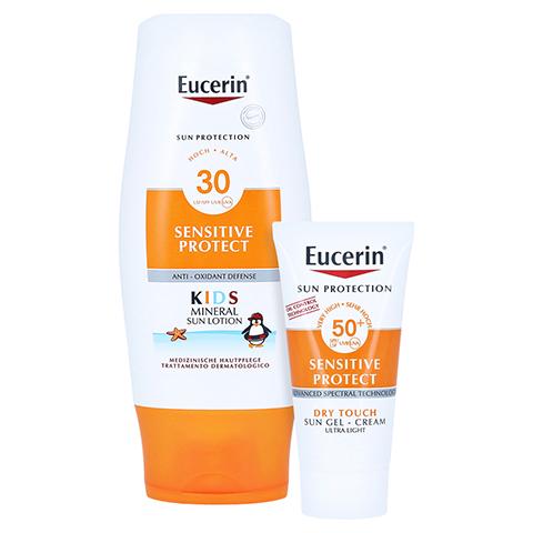 EUCERIN Sun Kids Micropigment Lotion LSF 30 + gratis Eucerin Sun Oil Control Body LSF50+ 150 Milliliter