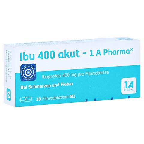 Ibu 400 akut-1A Pharma 10 Stück N1