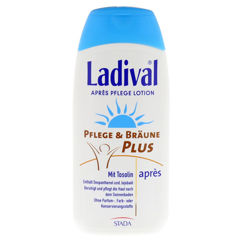 LADIVAL Pflege&Bräune Plus Apres Lotion 200 Milliliter