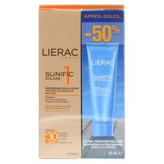 LIERAC Sunific Set Körper LSF 30 1 Stück - Vorderseite