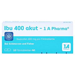 Ibu 400 akut-1A Pharma 10 Stück N1 - Vorderseite