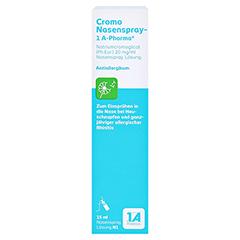Cromo Nasenspray 15 Milliliter N1 - Vorderseite