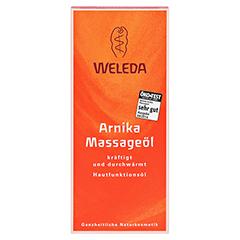 WELEDA Arnika Massageöl 100 Milliliter - Vorderseite