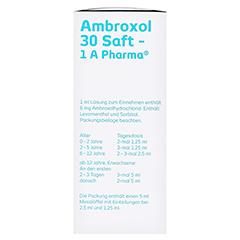 Ambroxol 30 Saft-1A Pharma 250 Milliliter N3 - Linke Seite