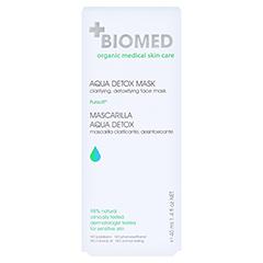 BIOMED Pure Entgiftung Maske 40 Milliliter - Rückseite