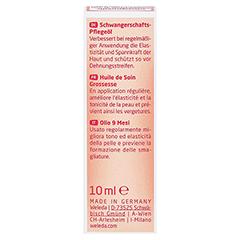 WELEDA Schwangerschaftspflegeöl 10 Milliliter - Rückseite