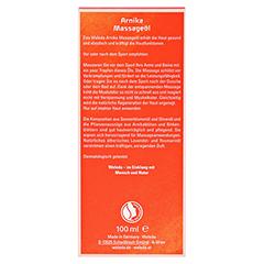 WELEDA Arnika Massageöl 100 Milliliter - Rückseite