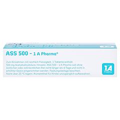 ASS 500-1A Pharma 20 Stück - Oberseite