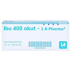 Ibu 400 akut-1A Pharma 20 Stück - Oberseite