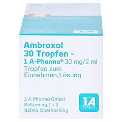 Ambroxol 30 Tropfen-1A Pharma 50 Milliliter N2 - Unterseite
