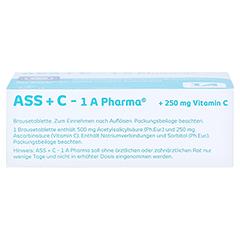 ASS+C-1A Pharma 20 Stück - Unterseite
