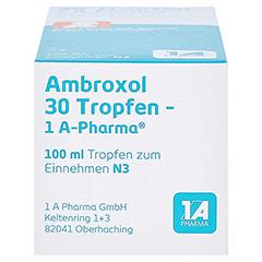Ambroxol 30 Tropfen-1A Pharma 100 Milliliter N3 - Unterseite