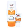 Eucerin Kids Sun Lotion LSF 50+ + gratis Eucerin Sun Oil Control Body LSF50+ 150 Milliliter
