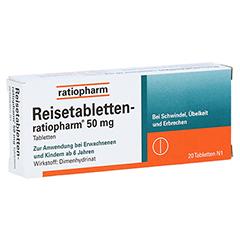 Reisetabletten-ratiopharm 20 Stück N1