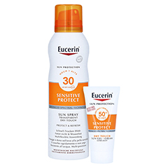 Eucerin Sun Spray Dry Touch LSF 30 + gratis Eucerin Sun Oil Control Body LSF50+ 200 Milliliter