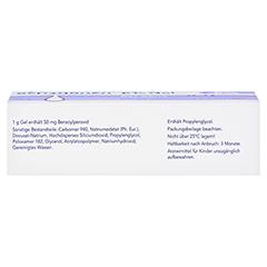 Benzaknen 5% 50 Gramm N2 - Unterseite