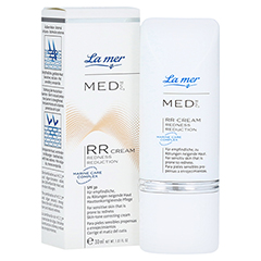 LA MER MED Redness Reduction Creme ohne Parfüm 30 Milliliter