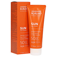 BÖRLIND SUN Sonnen-Creme LSF 50 75 Milliliter