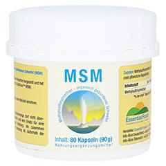 MSM 1000 mg Kapseln 80 Stück