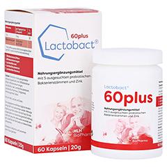 LACTOBACT 60plus magensaftresistente Kapseln 60 Stück
