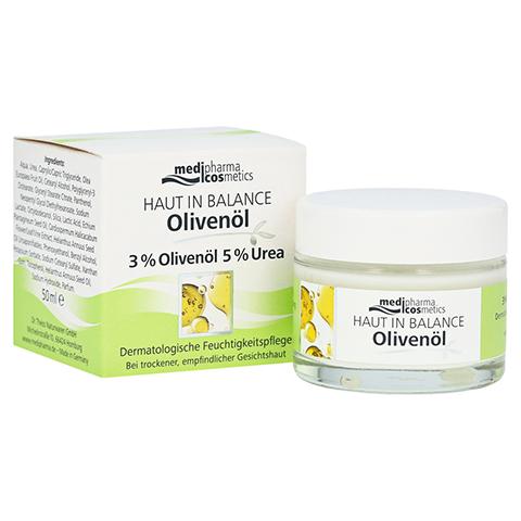 medipharma Haut in Balance Olivenöl Dermatologische Feuchtigkeitspflege 50 Milliliter