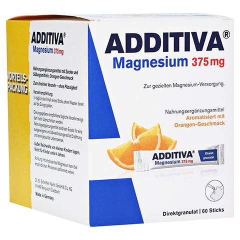 Additiva Magnesium 375 mg Sticks 60 Stück