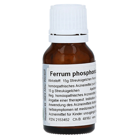 FERRUM PHOSPHORICUM D 12 Globuli 15 Gramm N1