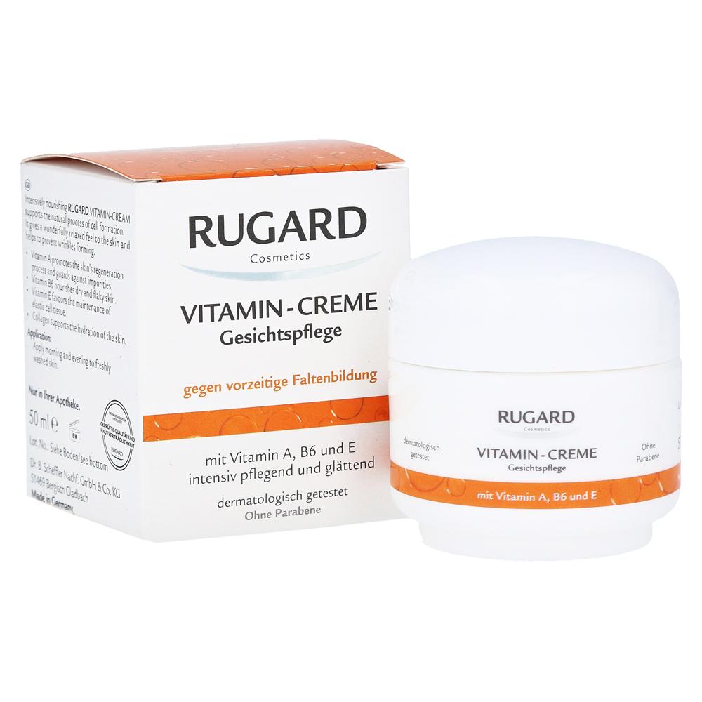 rugard vitamin creme gesichtspflege 50 milliliter online bestellen medpex versandapotheke. Black Bedroom Furniture Sets. Home Design Ideas