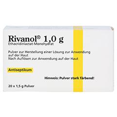 Rivanol 1,0g 20 Stück N3 - Vorderseite