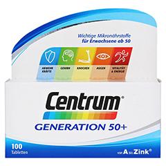CENTRUM Gen.50+ A-Zink+FloraGlo Lutein Caplette 100 Stück - Vorderseite
