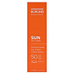 BÖRLIND SUN Sonnen-Creme LSF 50 75 Milliliter - Vorderseite