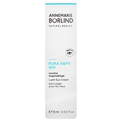 BÖRLIND Pura Soft Q10 leichte Augenpflege 15 Milliliter - Vorderseite