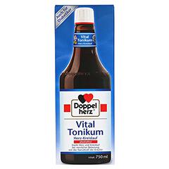 Doppelherz Vital Tonikum Herz-Kreislauf alkoholfrei 750 Milliliter - Vorderseite