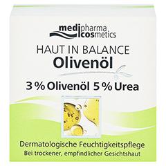 medipharma Haut in Balance Olivenöl Dermatologische Feuchtigkeitspflege 50 Milliliter - Vorderseite