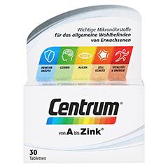 CENTRUM A-Z+Lutein Tabletten 30 Stück - Vorderseite