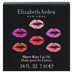 Elizabeth Arden Sheer Kiss Lip Oil Pampering Pink 7 Milliliter - Vorderseite