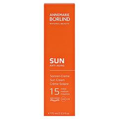 ANNEMARIE BÖRLIND Sonnen Creme LSF 15 75 Milliliter - Vorderseite
