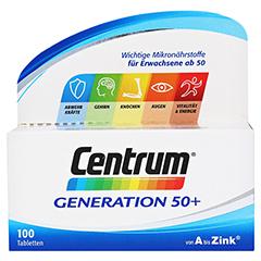 CENTRUM Generation 50+ Lutein Capletten 100 Stück - Vorderseite