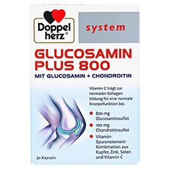 DOPPELHERZ Glucosamin Plus 800 system Kapseln 30 Stück - Vorderseite