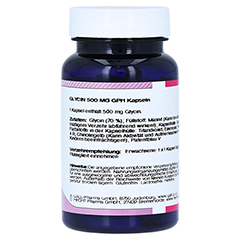 GLYCIN 500 mg Kapseln 60 Stück - Linke Seite