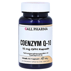 COENZYM Q10 15 mg GPH Kapseln 60 Stück