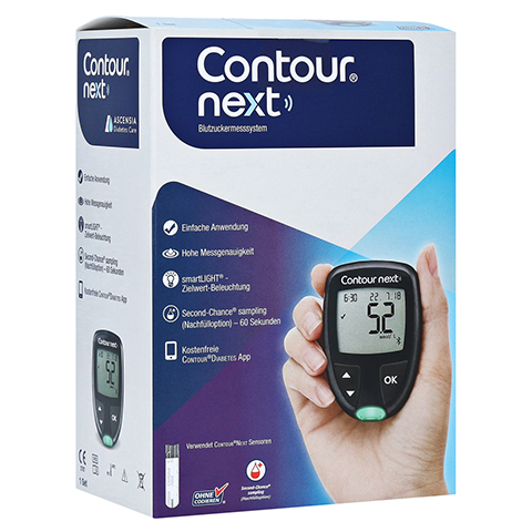 CONTOUR Next NEU Set Blutzuckermessgerät mmol/l 1 Stück