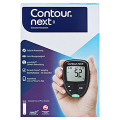 CONTOUR Next NEU Set Blutzuckermessgerät mmol/l 1 Stück - Vorderseite