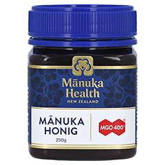 MANUKA HEALTH MGO 400+ Manuka Honig 250 Gramm - Vorderseite