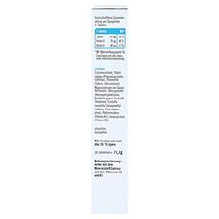 TAXOFIT Calcium 850+D3+K Depot Tabletten 30 Stück - Linke Seite