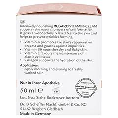 RUGARD Vitamin Creme Gesichtspflege 50 Milliliter - Linke Seite
