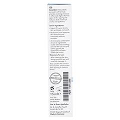 RUGARD Hyaluron Augenpflege 15 Milliliter - Linke Seite