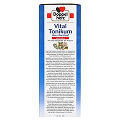 Doppelherz Vital Tonikum Herz-Kreislauf alkoholfrei 750 Milliliter - Linke Seite