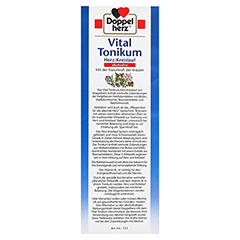 Doppelherz Vital Tonikum Herz-Kreislauf alkoholfrei 1000 Milliliter - Linke Seite